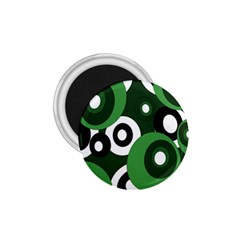 Green pattern 1.75  Magnets