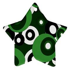 Green pattern Ornament (Star)