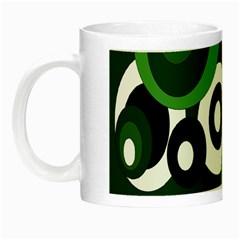 Green pattern Night Luminous Mugs