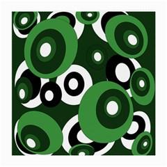 Green pattern Medium Glasses Cloth (2-Side)