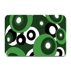 Green Pattern Plate Mats