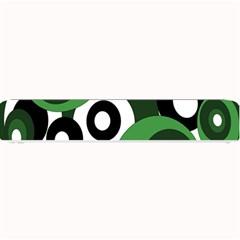 Green pattern Small Bar Mats