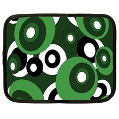 Green pattern Netbook Case (XXL)