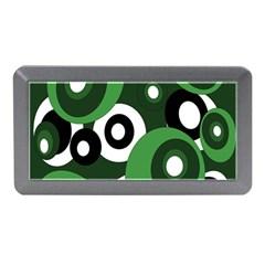 Green pattern Memory Card Reader (Mini)