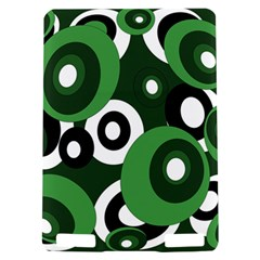 Green pattern Kindle Touch 3G