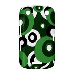 Green pattern BlackBerry Curve 9380