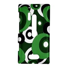 Green pattern Nokia Lumia 928