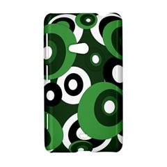 Green pattern Nokia Lumia 625