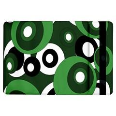 Green pattern iPad Air Flip