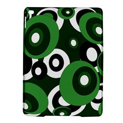 Green pattern iPad Air 2 Hardshell Cases