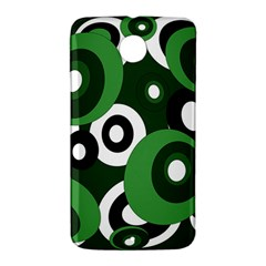 Green pattern Nexus 6 Case (White)