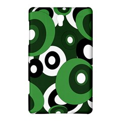 Green pattern Samsung Galaxy Tab S (8.4 ) Hardshell Case