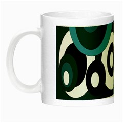 Blue pattern Night Luminous Mugs