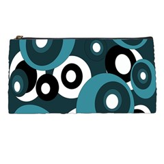 Blue pattern Pencil Cases