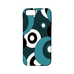 Blue pattern Apple iPhone 5 Classic Hardshell Case (PC+Silicone)