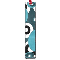 Blue pattern Large Book Marks