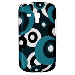 Blue pattern Samsung Galaxy S3 MINI I8190 Hardshell Case