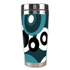 Blue pattern Stainless Steel Travel Tumblers