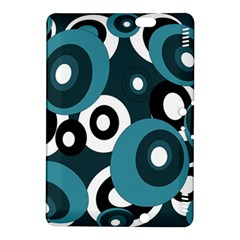 Blue pattern Kindle Fire HDX 8.9  Hardshell Case