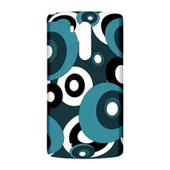 Blue pattern LG G3 Back Case