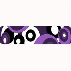 Purple pattern Large Bar Mats