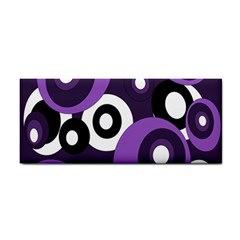 Purple pattern Hand Towel