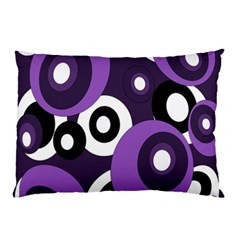 Purple pattern Pillow Case (Two Sides)