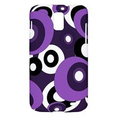Purple pattern Samsung Galaxy S II Skyrocket Hardshell Case