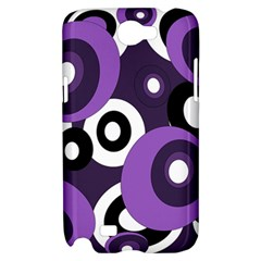 Purple pattern Samsung Galaxy Note 2 Hardshell Case