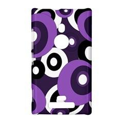Purple pattern Nokia Lumia 925