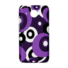 Purple pattern HTC Desire 601 Hardshell Case