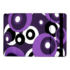 Purple pattern Samsung Galaxy Tab Pro 10.1  Flip Case