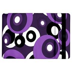 Purple pattern iPad Air Flip