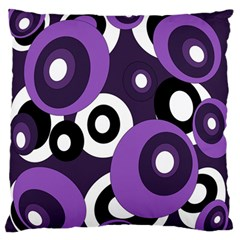 Purple pattern Standard Flano Cushion Case (Two Sides)
