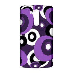 Purple pattern LG G3 Back Case