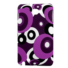 Purple pattern Samsung Galaxy Note 1 Hardshell Case