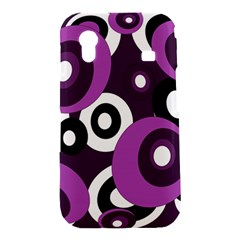 Purple pattern Samsung Galaxy Ace S5830 Hardshell Case