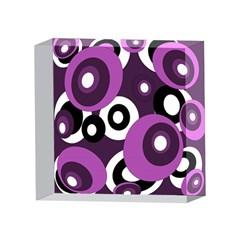 Purple pattern 4 x 4  Acrylic Photo Blocks