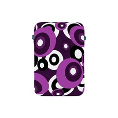 Purple pattern Apple iPad Mini Protective Soft Cases