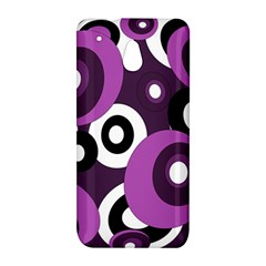 Purple pattern HTC One Mini (601e) M4 Hardshell Case