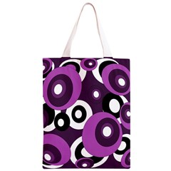 Purple pattern Classic Light Tote Bag