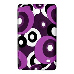 Purple pattern Samsung Galaxy Tab 4 (7 ) Hardshell Case