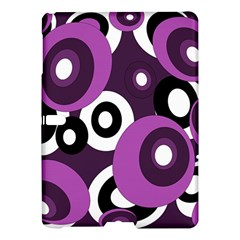 Purple pattern Samsung Galaxy Tab S (10.5 ) Hardshell Case
