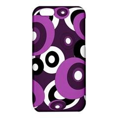 Purple pattern iPhone 6/6S TPU Case