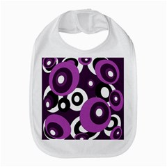 Purple pattern Bib