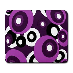 Purple pattern Large Mousepads