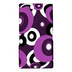 Purple pattern Sony Xperia Z Ultra