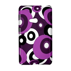 Purple pattern Nokia Lumia 625