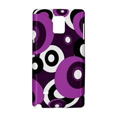 Purple pattern Samsung Galaxy Note 4 Hardshell Case