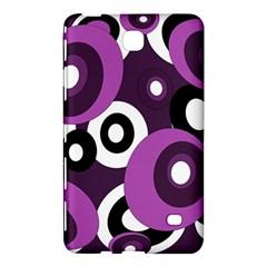 Purple pattern Samsung Galaxy Tab 4 (8 ) Hardshell Case